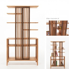 大川プロジェクト : 狭い部屋ですっきり暮らす家具